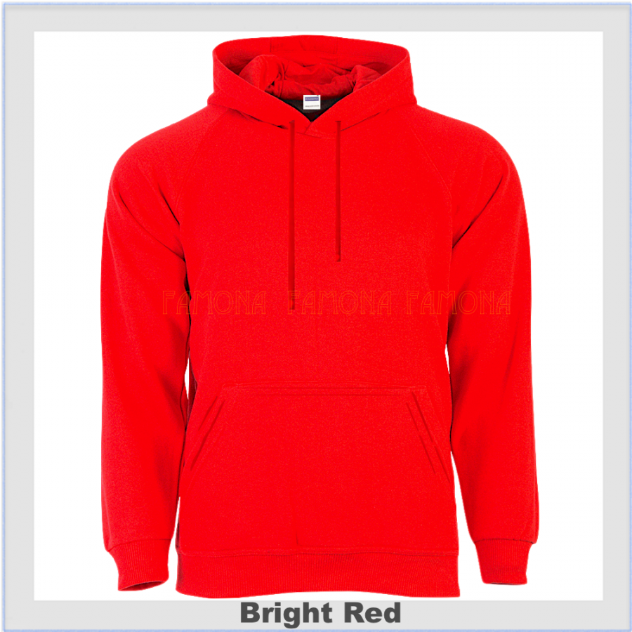 Red Hoodie, Plain Red Hooded Top, Red